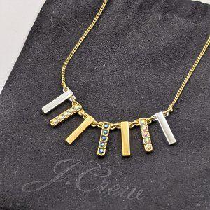 J Crew reversible necklace